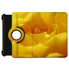 Yellow Rose Kindle Fire Hd 7  Flip 360 Case