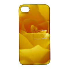 Yellow Rose Apple Iphone 4/4s Hardshell Case With Stand