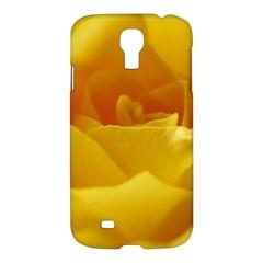 Yellow Rose Samsung Galaxy S4 I9500/I9505 Hardshell Case