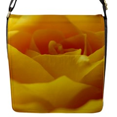 Yellow Rose Flap closure messenger bag (Small)