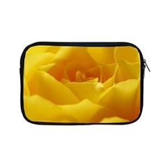 Yellow Rose Apple iPad Mini Zipper Case