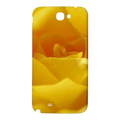 Yellow Rose Samsung Note 2 N7100 Hardshell Back Case