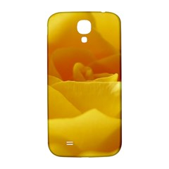 Yellow Rose Samsung Galaxy S4 I9500/i9505  Hardshell Back Case