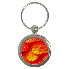 Waterdrops Key Chain (Round)
