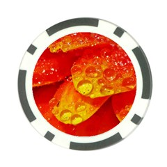 Waterdrops Poker Chip