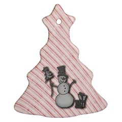 Happy Little Snowman Christmas Tree Ornament