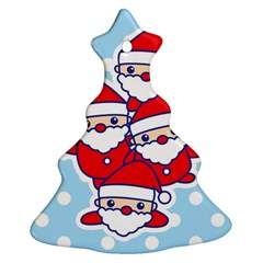 Santa s Christmas Tree Ornament