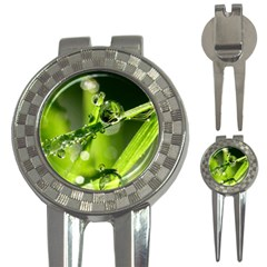 Waterdrops Golf Pitchfork & Ball Marker