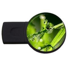 Waterdrops 4GB USB Flash Drive (Round)