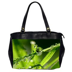 Waterdrops Oversize Office Handbag (Two Sides)