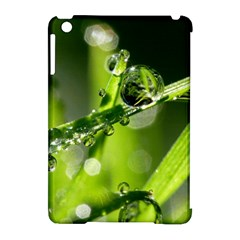 Waterdrops Apple Ipad Mini Hardshell Case (compatible With Smart Cover)