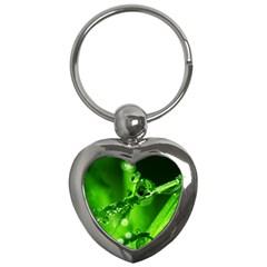 Waterdrops Key Chain (Heart)