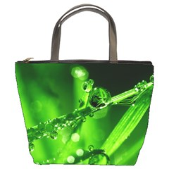 Waterdrops Bucket Bag