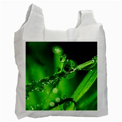 Waterdrops Recycle Bag (One Side)