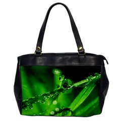 Waterdrops Oversize Office Handbag (one Side)