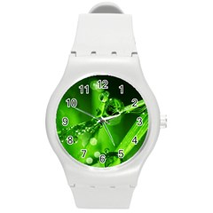 Waterdrops Plastic Sport Watch (Medium)
