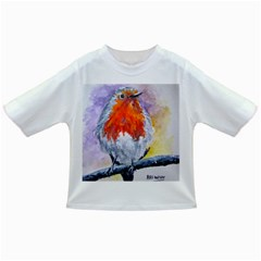 Robin Red Breast Baby T-shirt