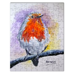 Robin Red Breast Jigsaw Puzzle (Rectangle)