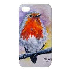 Robin Red Breast Apple iPhone 4/4S Premium Hardshell Case