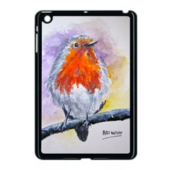 Robin Red Breast Apple iPad Mini Case (Black)