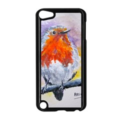 Robin Red Breast Apple iPod Touch 5 Case (Black)