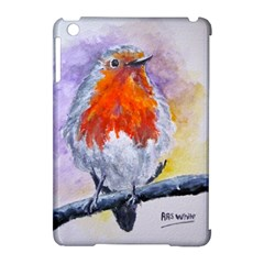 Robin Red Breast Apple Ipad Mini Hardshell Case (compatible With Smart Cover)