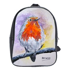 Robin Red Breast School Bag (xl)