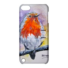 Robin Red Breast Apple iPod Touch 5 Hardshell Case with Stand