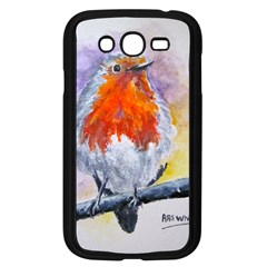 Robin Red Breast Samsung Galaxy Grand Duos I9082 Case (black)