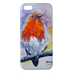 Robin Red Breast iPhone 5S Premium Hardshell Case