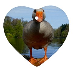 Geese Heart Ornament