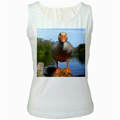 Geese Womens  Tank Top (White)