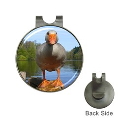Geese Hat Clip With Golf Ball Marker