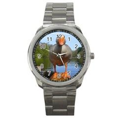 Geese Sport Metal Watch