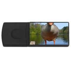 Geese 4GB USB Flash Drive (Rectangle)