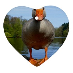 Geese Heart Ornament (Two Sides)
