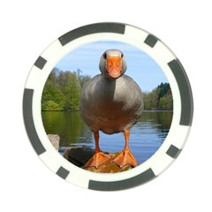 Geese Poker Chip
