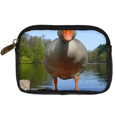 Geese Digital Camera Leather Case