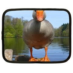Geese Netbook Case (XXL)