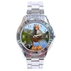 Geese Stainless Steel Watch (Men s)