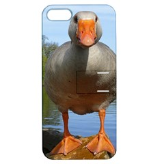 Geese Apple iPhone 5 Hardshell Case with Stand