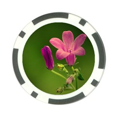 Campanula Close Up Poker Chip