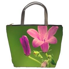 Campanula Close Up Bucket Bag
