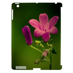 Campanula Close Up Apple iPad 3/4 Hardshell Case (Compatible with Smart Cover)