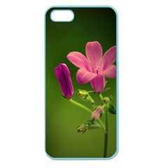 Campanula Close Up Apple Seamless Iphone 5 Case (color)