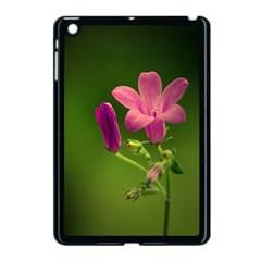 Campanula Close Up Apple iPad Mini Case (Black)