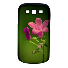 Campanula Close Up Samsung Galaxy S III Classic Hardshell Case (PC+Silicone)