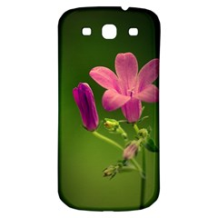 Campanula Close Up Samsung Galaxy S3 S Iii Classic Hardshell Back Case