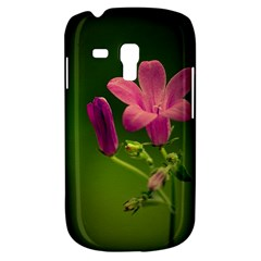 Campanula Close Up Samsung Galaxy S3 Mini I8190 Hardshell Case