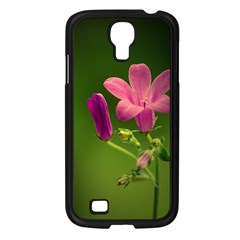 Campanula Close Up Samsung Galaxy S4 I9500/ I9505 Case (black)